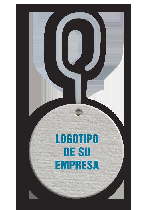 Caritas Perfumadas con logotipo