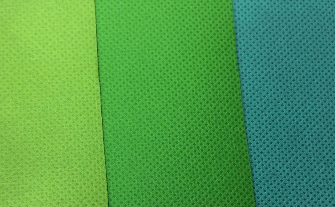 El Spunbond y la tela de algodón cuida el medio ambiente