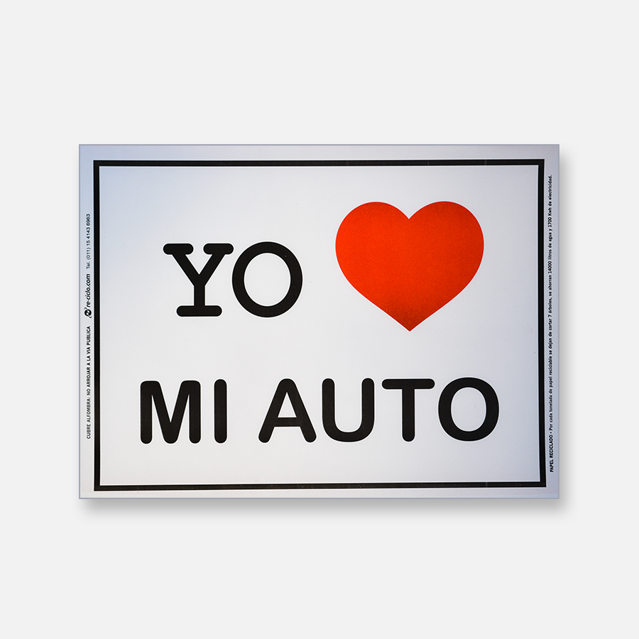Alfombra de papel blanca - Yo Amo Mi Auto