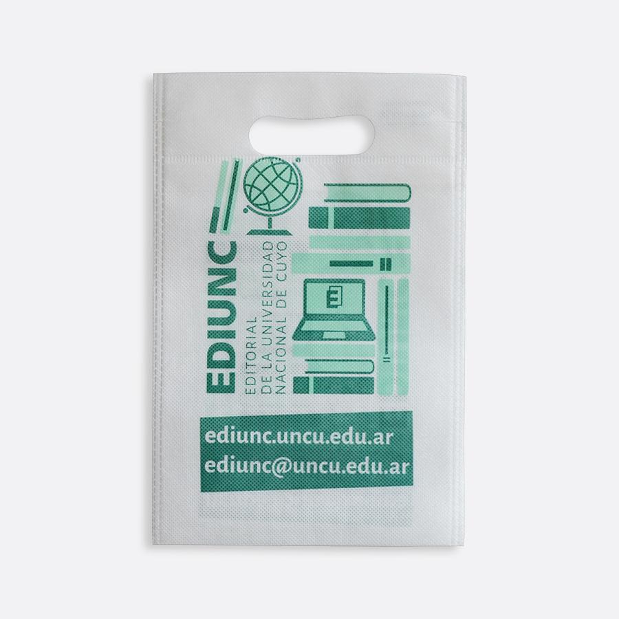 Bolsas ecológicas con troquel riñón - EDIUNC