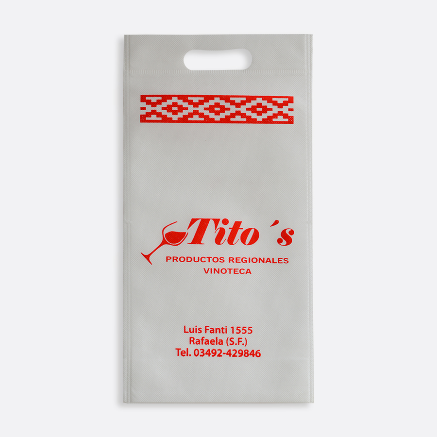 Bolsas ecológicas para botella de vino - Tito's Productos Regionales Vinoteca