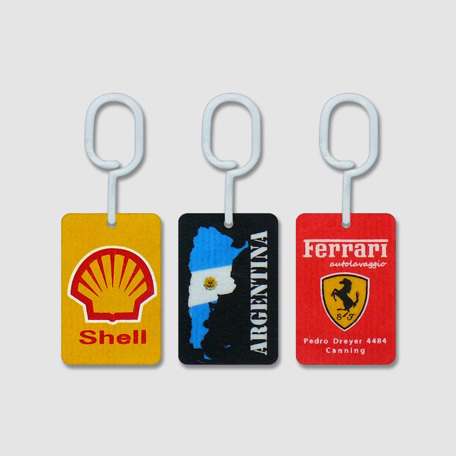 Tarjetas Perfumadas para Auto con Publicidad - Shell - Argentina- Ferrari